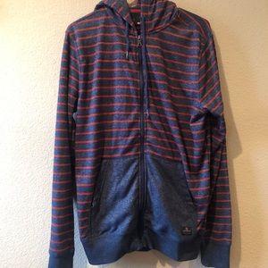 Men's Quicksilver zip up sweatshirt